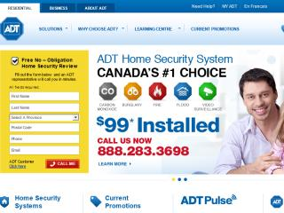 ADT Canada Website Redesign image
