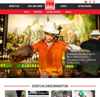 Downtown New York Website image