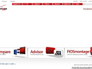 Verizon FiOS Website image
