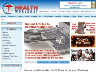 Health WorldNet image