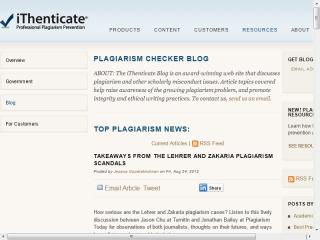 iThenticate Blog image