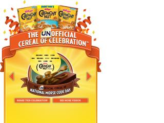 Crunchy Nut - Unofficial Cereal of Celebration image