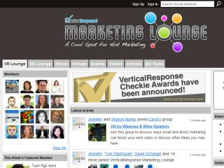 The VerticalResponse Lounge - A Cool Spot for Hot Marketing image