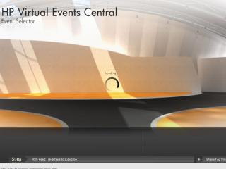 HP Virtual Event Central image