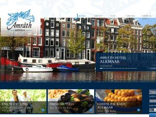 Amrath Hotels Website image