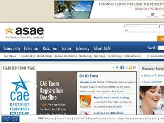 ASAE Website image
