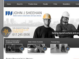 John J. Sheehan - Boston Workers Compensation Attorney image