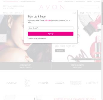 Avon.com Website Redesign  image