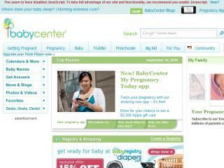 BabyCenter: The Journey of Parenthood  image
