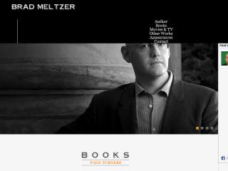Brad Meltzer Website Redesign image