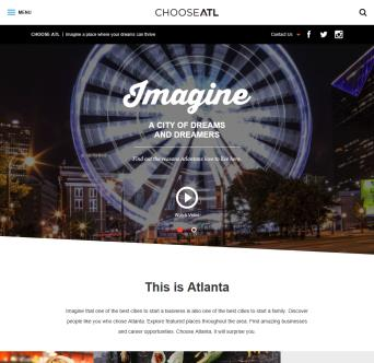 Choose ATL Redesign image