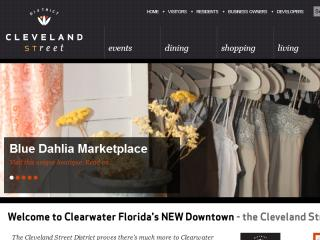 The Cleveland Street District, Downtown Clearwater, FL. image