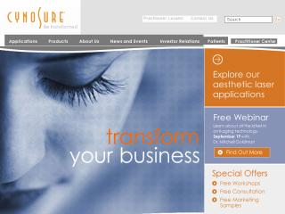 Cynosure Corporate Web Site image