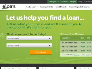 E-Loan Website image