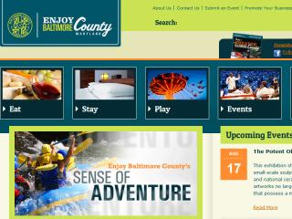 Enjoy Baltimore County Tourism Website image
