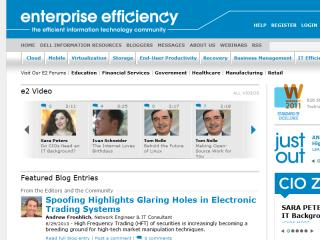 UBM Tech and Dell's Enterprise Efficiency image