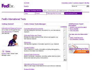 FedEx Global Trade Manager image