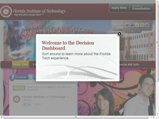 Florida Tech Decision Dashboard image