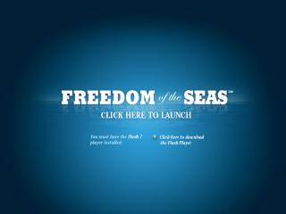 Freedom of the Seas website image