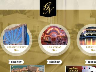 Golden Nugget Website image
