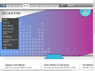 iBGStar Blood Glucose Monitoring System  image