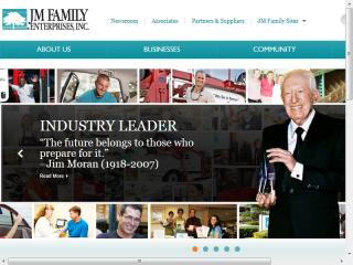 JM Family Corporate Webstie Redesign  image
