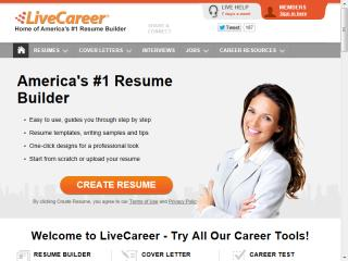 LiveCareer Resume Builder image