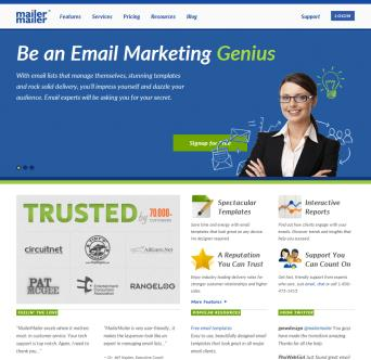 Easy Email Marketing: Create. Send. Relax. image