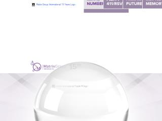 Matrix Group 15th Anniversary Microsite image