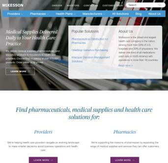McKesson Corporate Information Site image