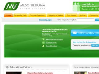 Mesothelioma Video Library image
