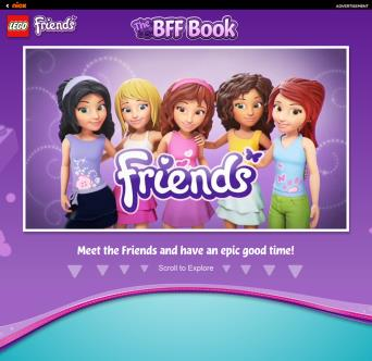 LEGO Friends BFF Book image