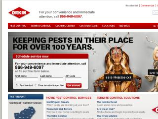 Orkin website redesign image