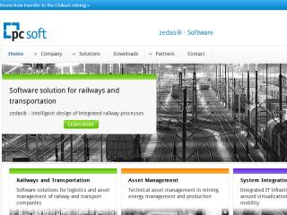 Relaunch PC Soft Website image