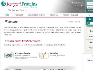 Regent Proteins - Biotech Ecommerce image