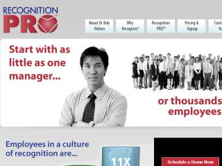 Recognition PRO� Website and Application image