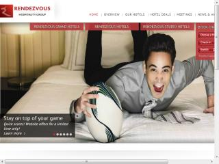 Rendezvous Hotels Website image