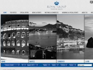 Royal Group Website image
