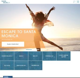 Santa Monica Convention & Visitors Bureau site image