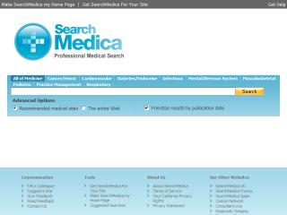 SearchMedica, professional medical searches image