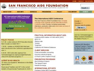 San Francisco Aids Foundation image