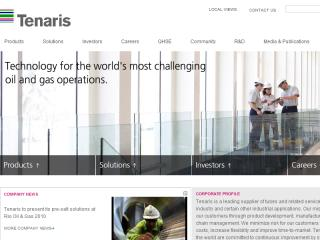 Tenaris Corporate Website image