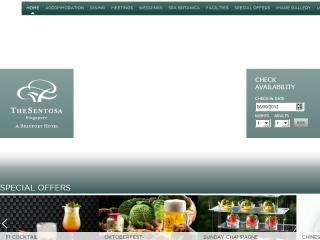 The Sentosa Website image