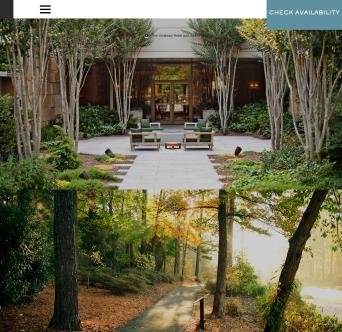 Umstead Hotel & Spa Website image