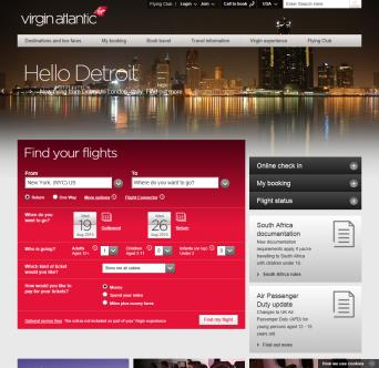 Virgin Atlantic Airways image