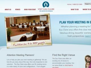Visit Eau Claire Meeting Planners Website image