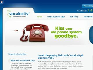 Vocalocity Website Redesign image