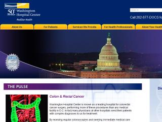Washington Hospital Center Website image