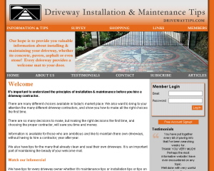 Driveway Tips & Information image