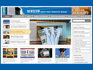 Newseum Opens in Nation's Capital image